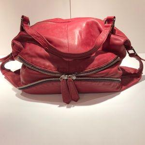 Linea Pelle Slouchy Zip Hobo Bag